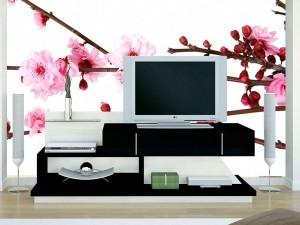 Fotomural Decorativo Flor de Cerezo Cherry Flower