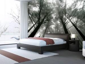 Fotomural Decorativo Bosque de Niebla