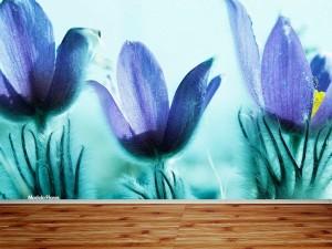 Fotomural Decorativo Flores Exquisitas
