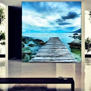 Fotomural Decorativo Camino al Mar