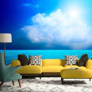 Fotomural Decorativo Azul del Mar