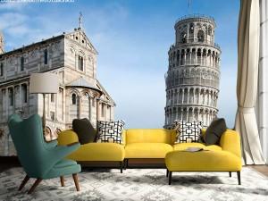 Fotomural Decorativo Torre de Pisa Italia
