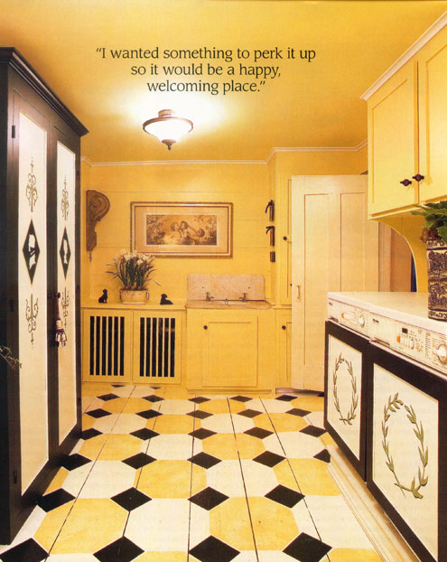yellow black ornamental kitchen fotomurales decorativos m xico