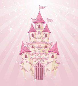 Fotomural Decorativo Infantil Castillo de Princesas 2