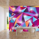abstracto rombos brillantes