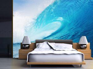 Fotomural Decorativo para Dormitorio: Ola Gigante