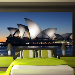 Fotomural Decorativo para Dormitorio: Sidney