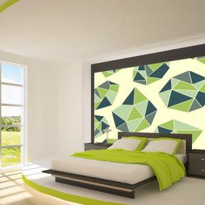 Fotomural Decorativo Diseños Abstractos: Tetrahedros