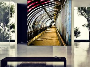 Fotomural Decorativo para Sala: Tunel