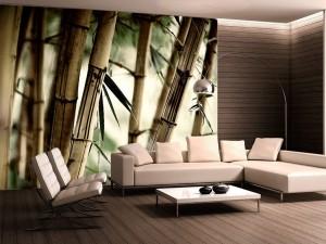 Fotomural Decorativo Bambu