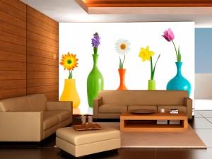 Fotomural Decorativo Flores en Espera