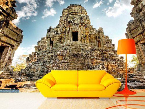 fotomura ruinas cambodia 500x375 - Fotomurales de Ciudades y Urbanos