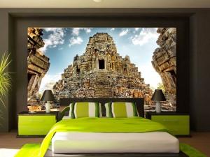 Fotomural Decorativo Ruinas de Camboya