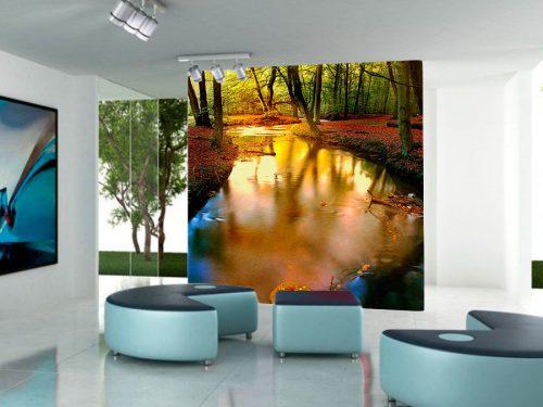fotomural-bosque-rojo-3