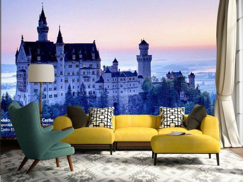 fotomural castillo europeo 500x375 - Fotomurales de Ciudades y Urbanos