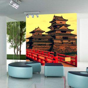 Fotomural Decorativo Castillo Japonés Feudal