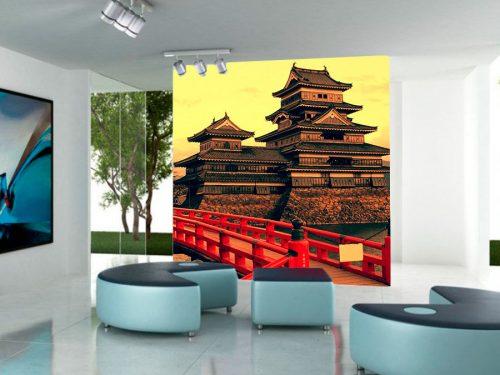 fotomural castillo japones feudal2 500x375 - Fotomurales de Ciudades y Urbanos