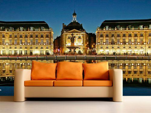 fotomural decorativo castillo europeo francia 1 500x375 - Fotomurales de Ciudades y Urbanos