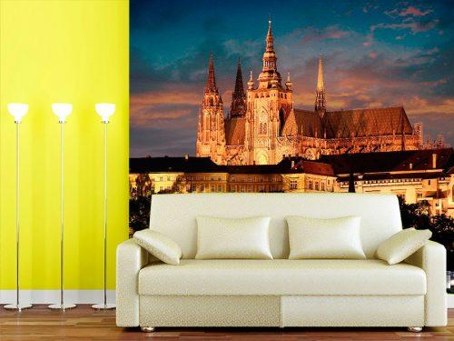 fotomural decorativo castillo praga 1 500x375 - Fotomurales de Ciudades y Urbanos