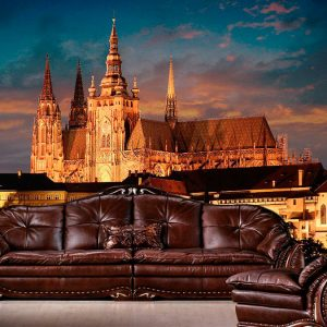 Fotomural Decorativo Castillo de Praga