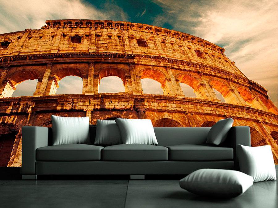 fotomural decorativo coliseo romano2 - Fotomurales de Ciudades y Urbanos