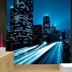 fotomural decorativo luces nocturnas de la ciudad 2 300x300 - Fotomurales de Ciudades y Urbanos
