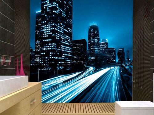 fotomural decorativo luces nocturnas de la ciudad 2 500x375 - Fotomurales de Ciudades y Urbanos
