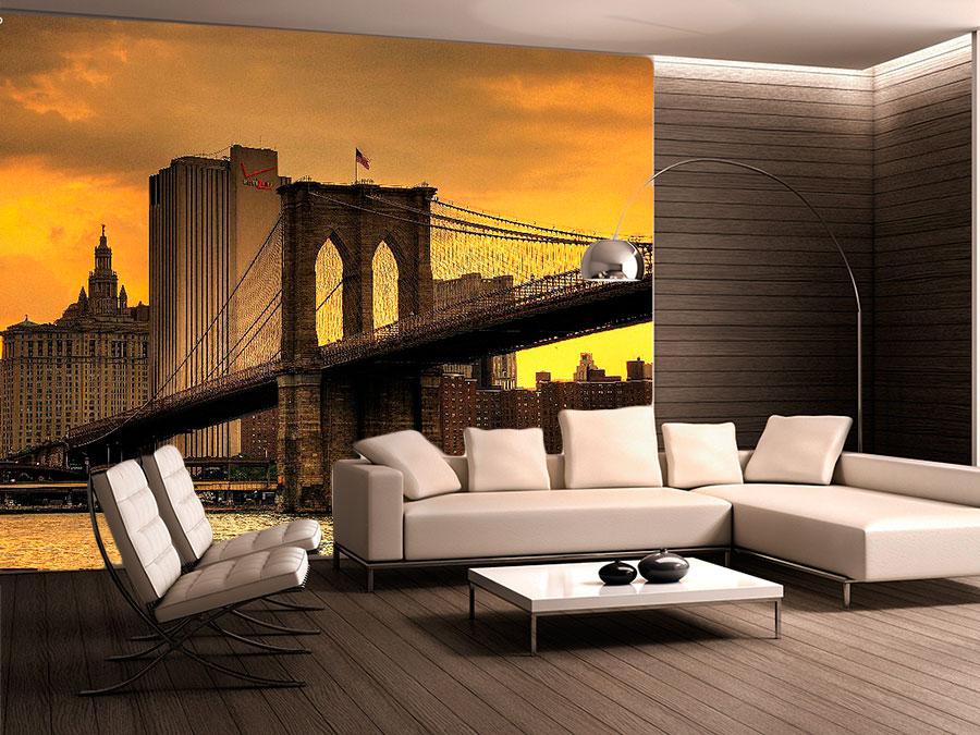 fotomural-decorativo-nueva-york-puente-atardecer