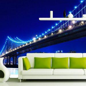 fotomural decorativo puente brooklyn nueva york color 3 300x300 - Fotomurales de Ciudades y Urbanos