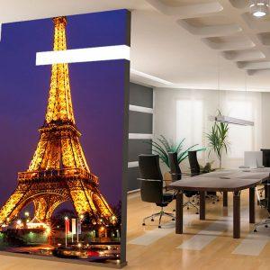 Fotomural Decorativo Torre Eiffel Cielo Nocturno