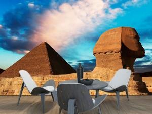 Fotomural Decorativo Piramides de Egitp y