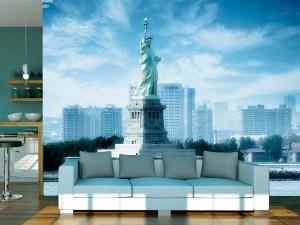 fotomural estatua de la libertad nueva york usa2 300x225 - Fotomurales de Ciudades y Urbanos