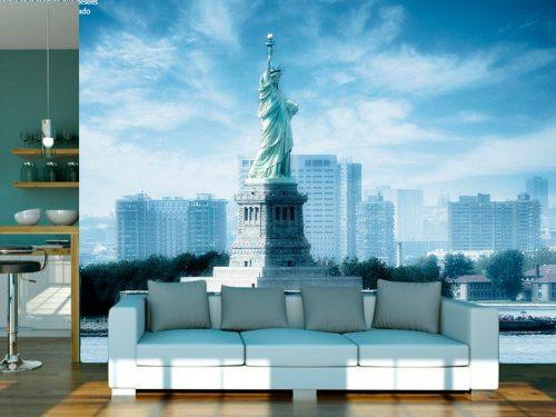 fotomural estatua de la libertad nueva york usa2 500x375 - Fotomurales de Ciudades y Urbanos