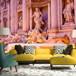 Fotomural Decorativo Fuente de Trevi Roma Italia