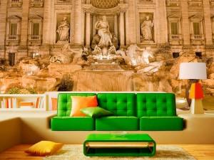 fotomural fuente de trevi italia 300x225 - Fotomurales de Ciudades y Urbanos