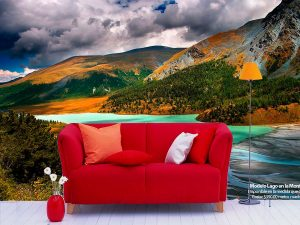 Fotomural Decorativo Naturaleza Salvaje Montañas