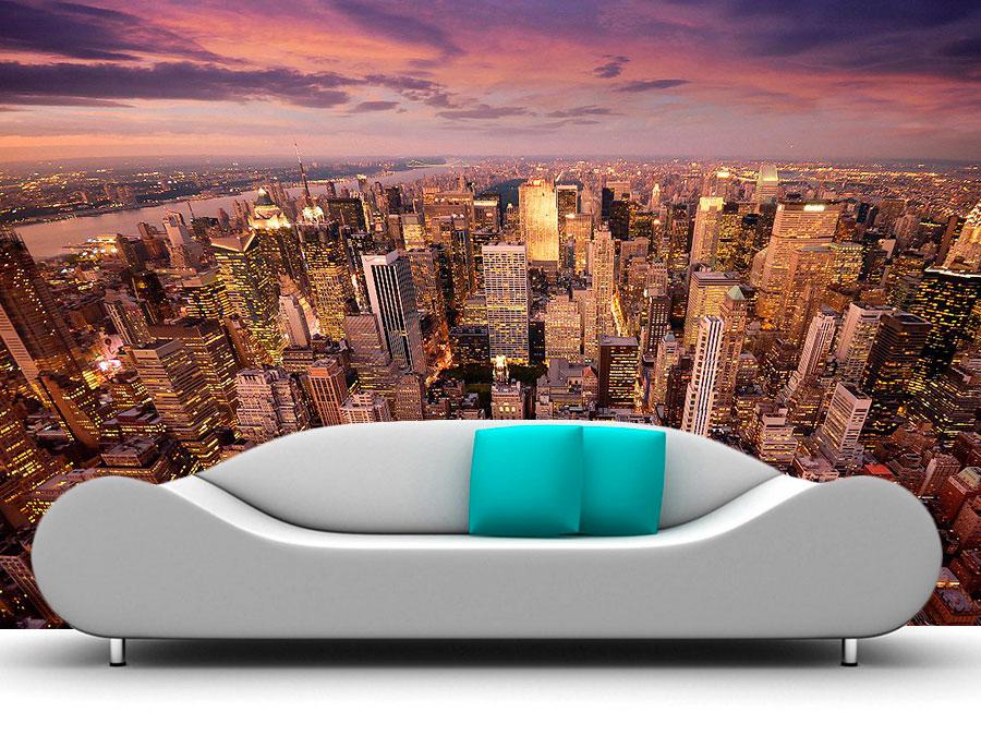 fotomural nueva york la gran manzana2 - Fotomurales de Ciudades y Urbanos