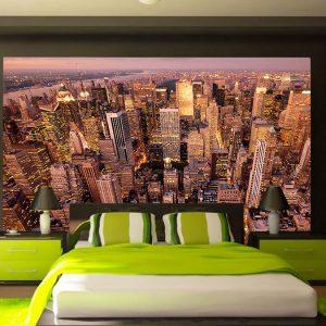 Fotomural Decorativo Rascacielos Nueva York Atardecer