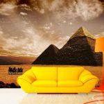 fotomural-piramides-de-egipto-atardecer