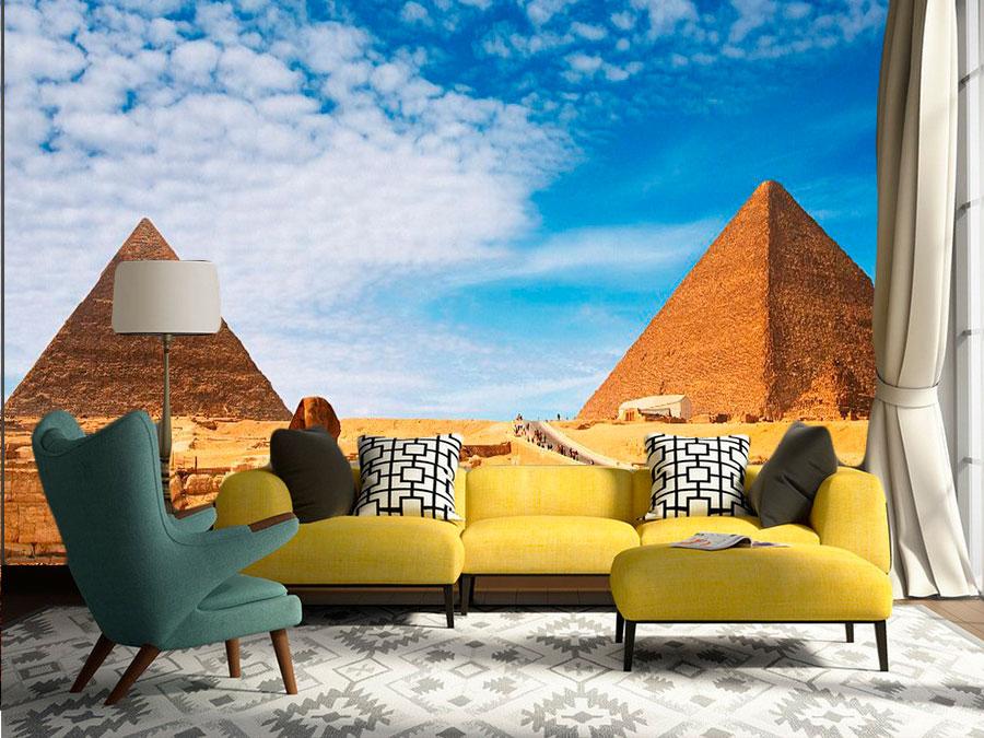 fotomural piramides de egipto - Fotomurales de Ciudades y Urbanos