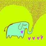 Elefantito lleno de amor