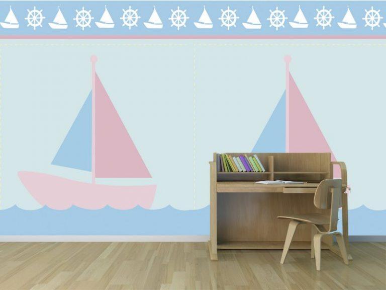 fotomural barco 2 768x576 - Fotomurales & Papel Tapiz Infantiles