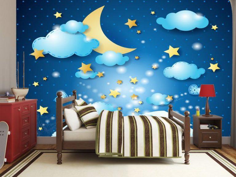 fotomural buenas noches 768x576 - Fotomurales & Papel Tapiz Infantiles