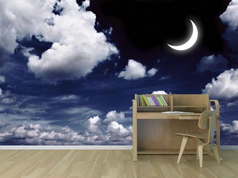 fotomural cielo noche 768x576 - Fotomurales & Papel Tapiz Infantiles