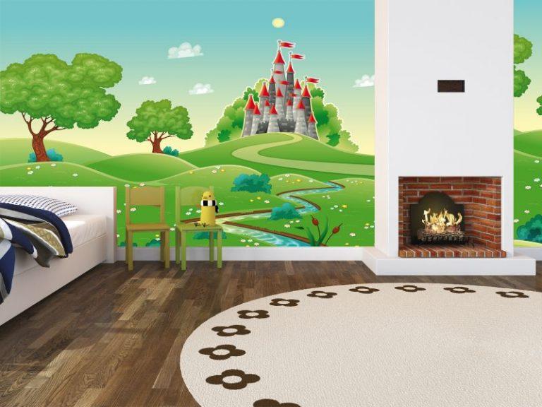 fotomural el castillo del rey 2 768x576 - Fotomurales & Papel Tapiz Infantiles