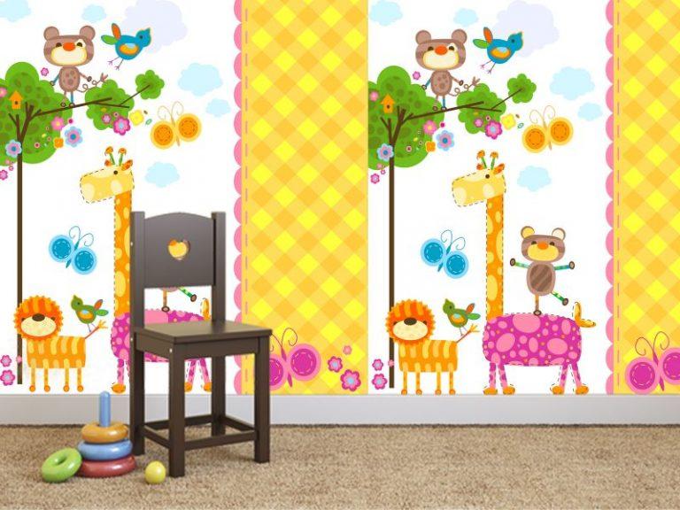 fotomural girafa 768x576 - Fotomurales & Papel Tapiz Infantiles