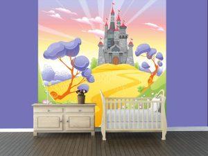 Fotomural Decorativo Infantil Reino Mágico