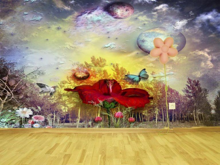 fotomural surrealista 768x576 - Fotomurales & Papel Tapiz Infantiles