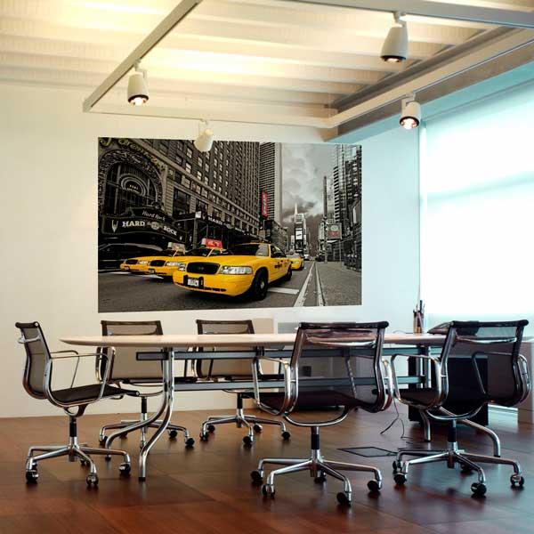 Decoraci n de oficinas con fotomurales for Decoracion oficinas y despachos