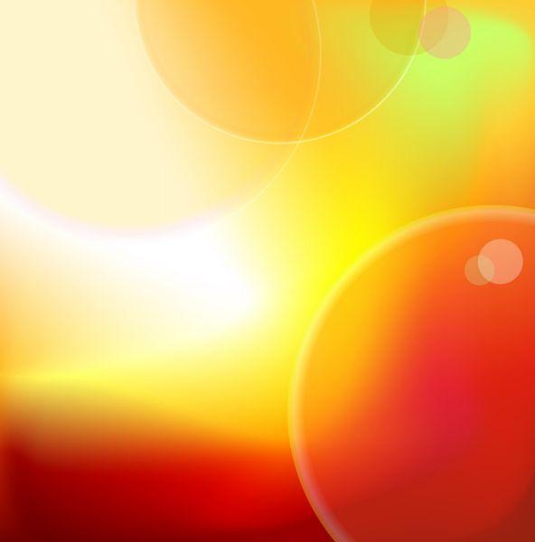 burbujas naranja